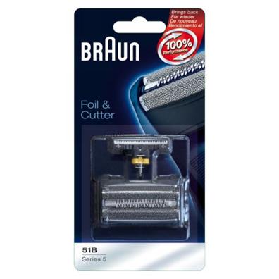 grille et couteau braun 51b series 5 couleur noir. Black Bedroom Furniture Sets. Home Design Ideas